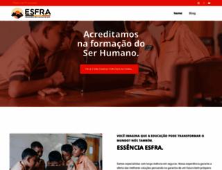 esfra.com.br screenshot