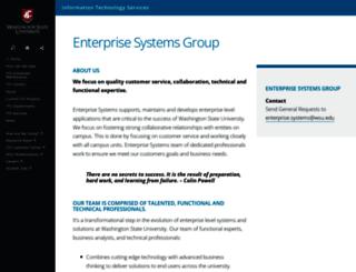 esg.wsu.edu screenshot