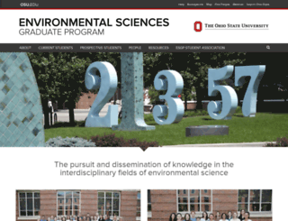 esgp.osu.edu screenshot