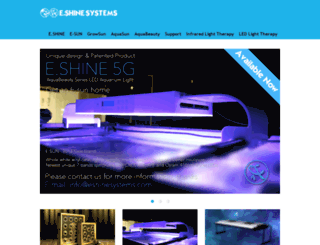 eshinesystems.com screenshot