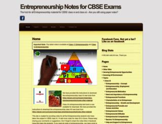 eshipnotes.wordpress.com screenshot