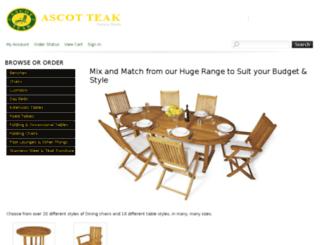 eshop.ascotteak.com screenshot