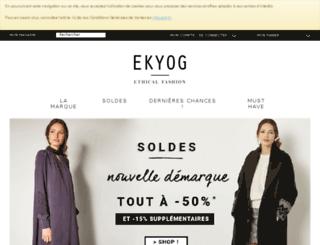 eshop.ekyog.com screenshot