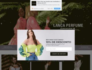 eshop.lancaperfume.com.br screenshot