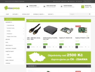 eshop.minidroid.cz screenshot