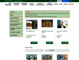 eshop.posta.hu screenshot