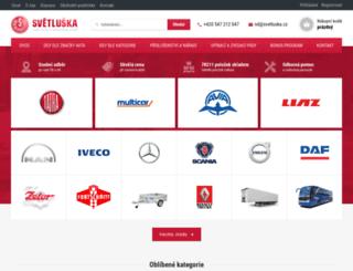 eshop.svetluska.cz screenshot
