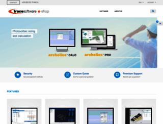 eshop.trace-software.com screenshot