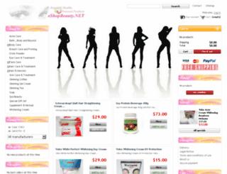 eshopbeauty.net screenshot