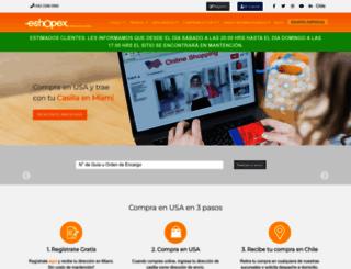 eshopex.cl screenshot