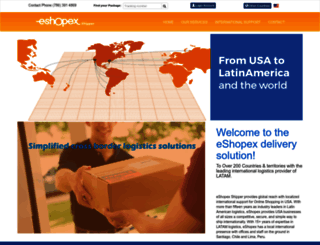 eshopex.com screenshot