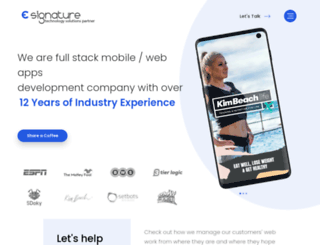 esignature.com.np screenshot