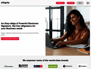 esignly.com screenshot