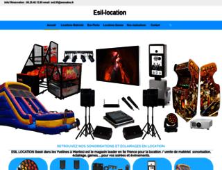 esil-location.com screenshot