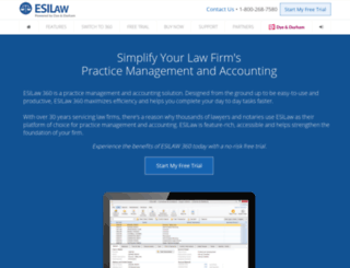 esilaw.com screenshot