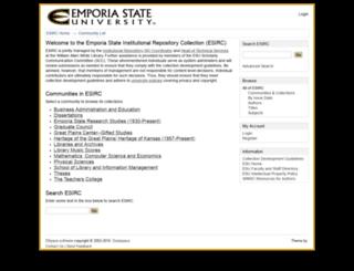 esirc.emporia.edu screenshot