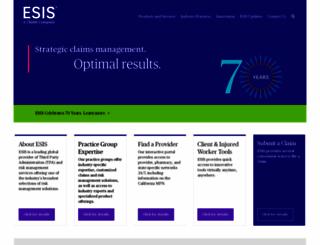esis.com screenshot