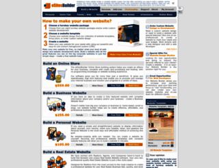 esitesbuilder.com screenshot
