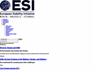 esiweb.org screenshot
