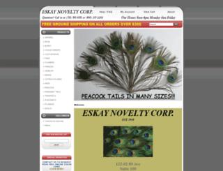 eskayfeathers.com screenshot