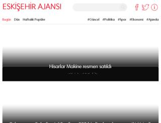 eskisehirajansi.com screenshot
