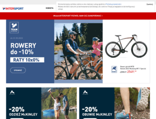 esklep.intersport.pl screenshot