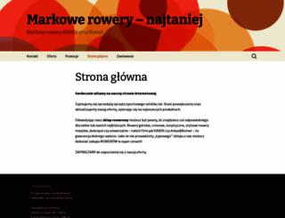 eskleprowerowy.pl screenshot