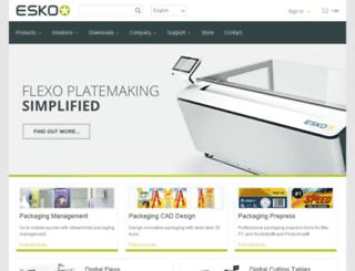 esko-graphics.com screenshot