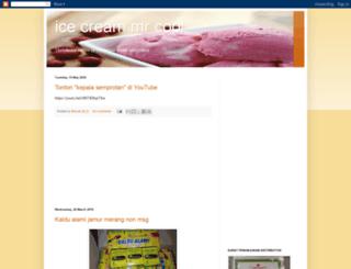 eskrimmrcool.blogspot.com screenshot