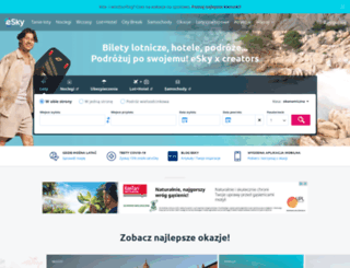 esky.pl screenshot