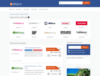 eslevy.cz screenshot