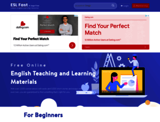eslfast.com screenshot