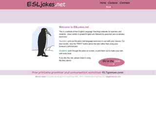 esljokes.net screenshot