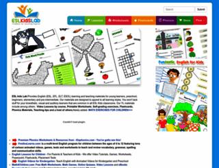 eslkidslab.com screenshot