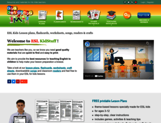 eslkidstuff.com screenshot