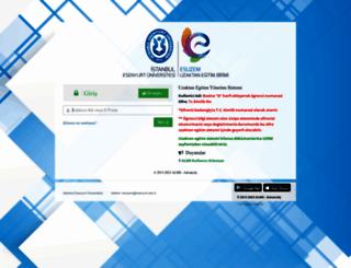 eslms.esenyurt.edu.tr screenshot