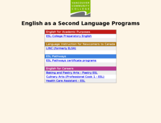 eslprograms.vcc.ca screenshot