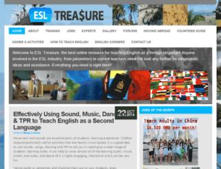 esltreasure.com screenshot