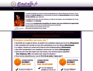 esmeralda.fr screenshot