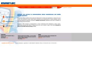 esmertec.com screenshot