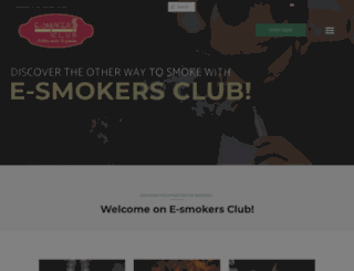esmokersclub.it screenshot