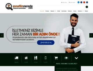 esnafimnerede.com screenshot