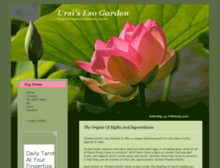 eso-garden.com screenshot