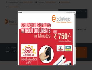 esolutionsindia.in screenshot