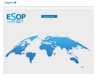 esop.capgemini.com screenshot