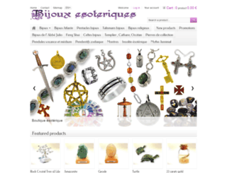 esotericjewels.com screenshot