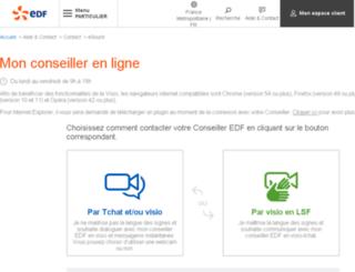 esourds.edf.fr screenshot