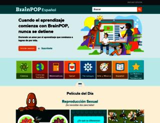 esp.brainpop.com screenshot