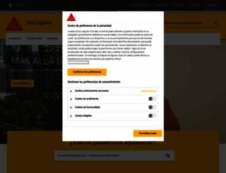 esp.sika.com screenshot