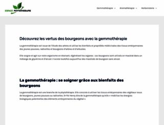 espace-phytotherapie.com screenshot